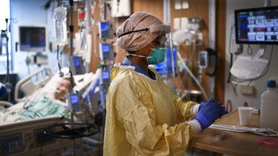 تصویر از بیماران کووید-۱۹ بستری در تورنتو شامل افراد غیر واکسینه و فاقد واکسیناسیون کامل هستند