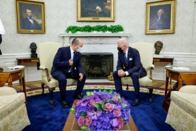 جو بایدن به نخست وزیر اسرائیل می گوید که ابتدا با ایران دیپلماسی را امتحان می کند
