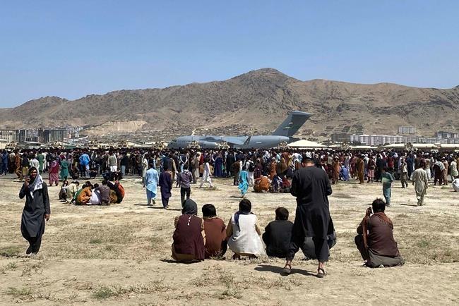 ارتش کانادا 106 شهروند افغان دیگر را از میان یک وضعیت «ناپایدار و پر هرج و مرج» خارج کرد
