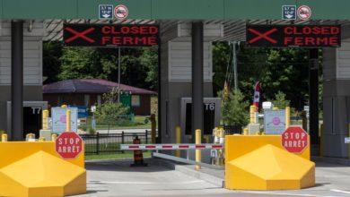 تصویر از ازدحام در مرزها به علت اعتصابات کارگری کارکنان آژانس خدمات مرزی کانادا