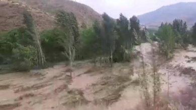 تصویر از سیل در روستاهای کلیبر در آذربایجان شرقی و مفقود شدن دستکم سه نفر