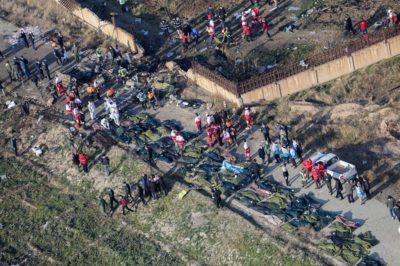 انجمن خانوادههای قربانیان هواپیمای اوکراینی : همه مقصرین اصلی انهدام هواپیما تبرئه شدهاند