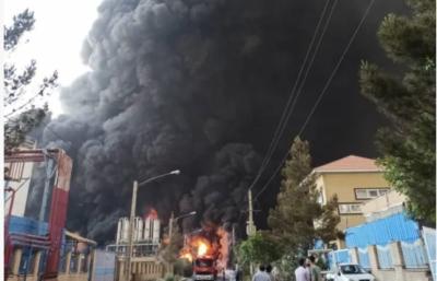 آتشسوزی در پتروشیمی منطقه ویژه اقتصادی ماهشهر؛ نگاهها به سوی اسرائیل است