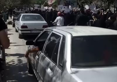 اعتراضات علیه گروه تروریستی طالبان در ایران به اصفهان رسید
