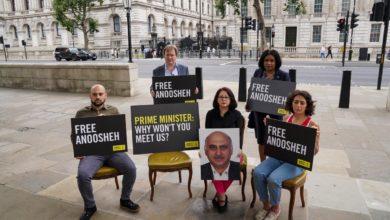 تصویر از نخست وزیر و وزیر خارجه بریتانیا خواستار آزادی انوشه آشوری شهروند دوتابعیتی ایرانی-بریتانیایی شدند