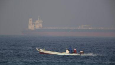 تصویر از کشتی تجاری با پرچم پاناما در آبهای امارات ربوده شد