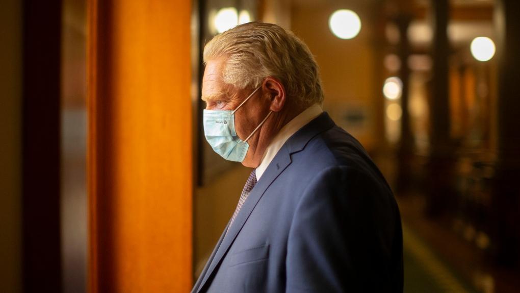 داگ فورد خواستار تغییر سیستم پیشنهادی گواهی واکسن کووید-19 شد