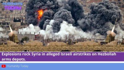 حمله موشکی اسرائیل به مواضع حزبالله و شبهنظامیان ایران در حومه دمشق