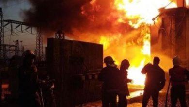 تصویر از ترانس برق نیروگاه سیکل ترکیبی نیشابور آتش گرفت : علت قطعی مداوم برق در ایران فرسودگی و عدم تعمیرات عنوان شده است