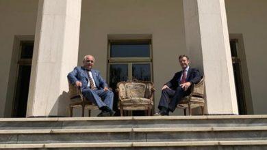 تصویر از عکس جنجالی سفرای روسیه و بریتانیا در تهران ؛ رئیس مجلس ایران خواستار عذرخواهی سفرای دو کشور شد