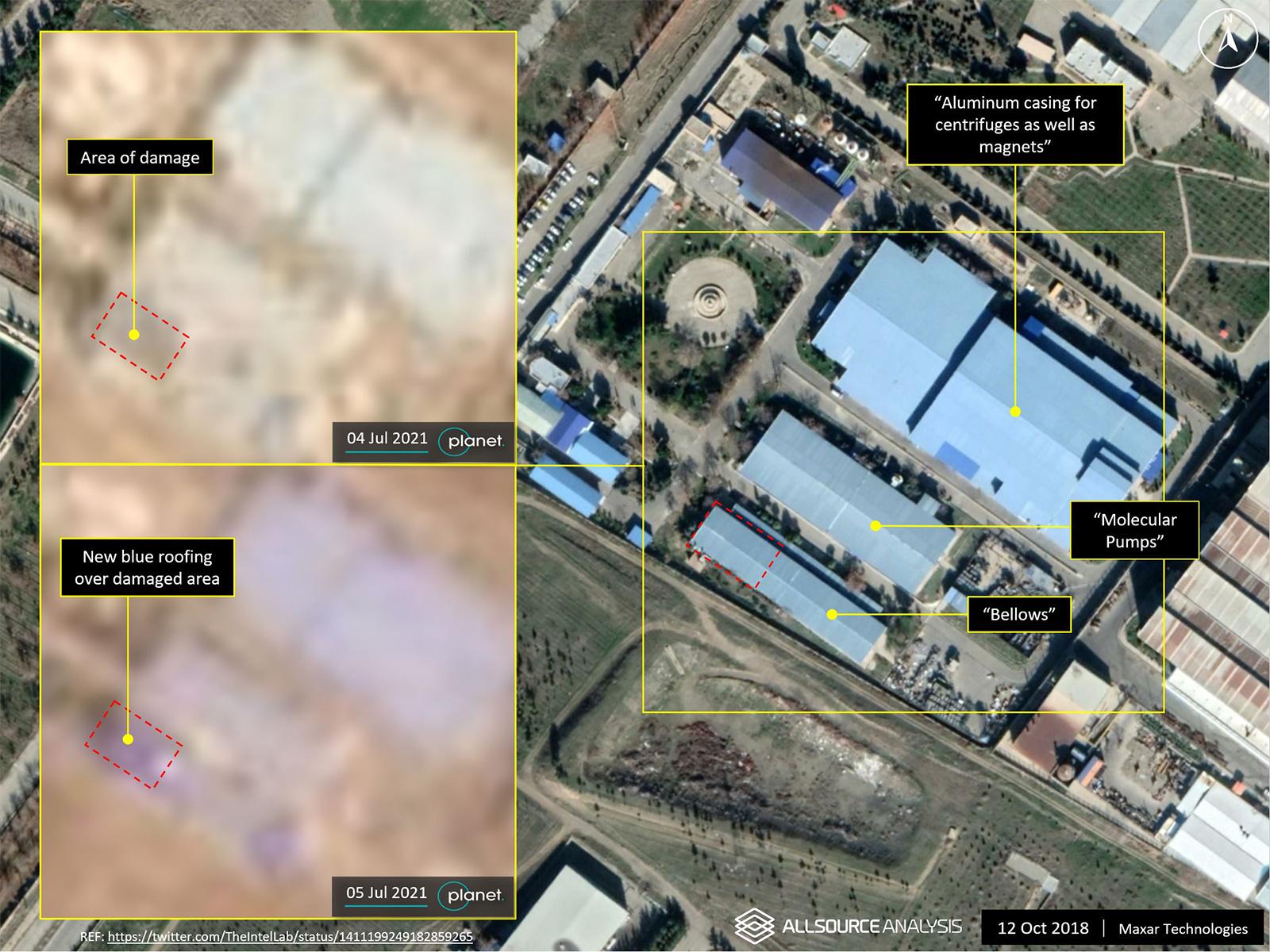 آژانس بینالمللی انرژی اتمی: نابودی و گم شدن یک دوربین و برخی تجهیزات در ساختمان سازمان انرژی اتمی در کرج