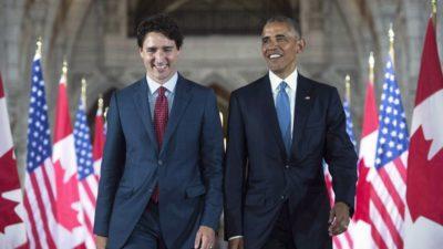 باراک اوباما از «دوست» خود جاستین ترودو در انتخابات کانادا حمایت میکند