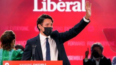 تصویر از پیروزی ترودو در انتخابات با دستیابی دوباره لیبرالها به یک دولت اقلیت