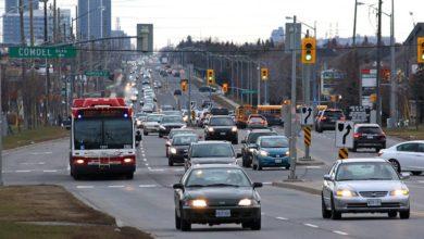 تصویر از تورنتو در آستانه بازگشایی مدارس و بازگشت به محیطهای کاری از «برنامه عملیاتی» تراکم ترافیک رونمایی کرد