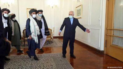 جدال لفظی میان مخالفین و موافقین حمایت جمهوری اسلامی از تروریست های طالبان