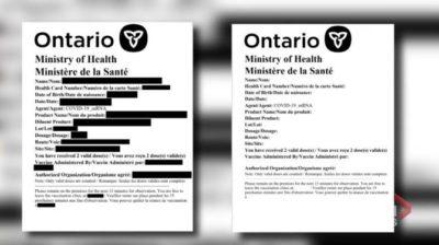 هشدار سازمان بهداشت انتاریو: ایمیلهای پیشنهاد ثبتنام پاسپورت واکسن کلاهبرداری است