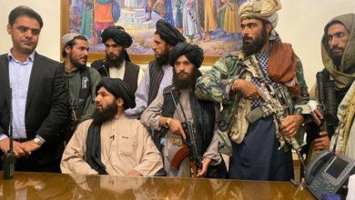 تصویر از تروریست های طالبان از ایران، چین، روسیه و ترکیه برای شرکت در مراسم اعلام ساختار جدید حکومت افغانستان دعوت کردند