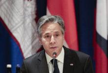 تصویر از وزیر خارجه آمریکا از ایران می خواهد که بدون تاخیر به مذاکرات هسته ای بازگردد