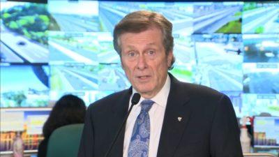 تورنتو در آستانه بازگشایی مدارس و بازگشت به محیطهای کاری از «برنامه عملیاتی» تراکم ترافیک رونمایی کرد