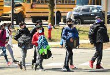 تصویر از بالاترین آمار ابتلا در تورنتو در میان کودکان گروه سنی مدرسه مشاهده شده است