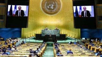 تصویر از وزیر خارجه فرانسه از جامعه بینالملل خواست تا با ایران برخورد کاملا قاطعانه داشته باشند