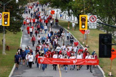 برگزاری یادبود هزارمین روز بازداشت کووریگ و اسپاوور کانادایی توسط چین