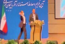تصویر از فرماندار جدید آذربایجان شرقی در جلسه معارفه سیلی خورد