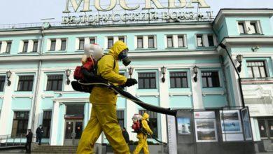 تصویر از تعطیلی فروشگاه ها و مدارس مسکو در پی ثبت بالاترین رقم مرگ و میر در روسیه